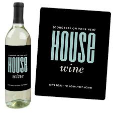 Best Housewarming Gifts For First Home Amazon Com Home Sweet Home Wine Bottle Labels Housewarming