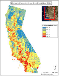 California Wildfires Map Fracking In California Map California Map