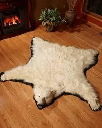 Taxidermy Bear Rug Bear Skin Rugs Polar Bear Grizzly Bear Buffalo Hide Bear Rugs