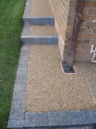 Pea Gravel And Epoxy Patio by Outdoor Pebble Resin Flooring Houses Flooring Picture Ideas Blogule