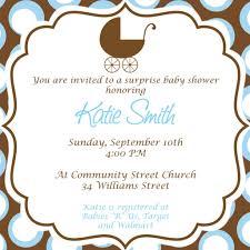 baby boy baby shower invitation invitations templates