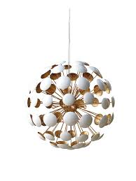 solaria bilbao metal chandelier gold leaf and white clayton gray