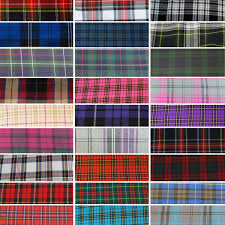 plaid tartan oh sew crafty buy cheap fabric buy poly cotton fabric sewing