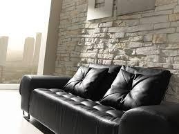 echte steinwand im wohnzimmer 2 steinoptik onlineshop steinpaneele classic