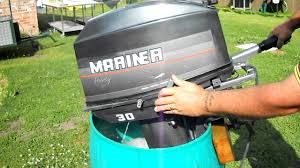 30hp mariner outboard youtube