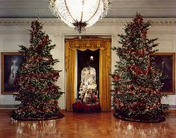 past white house christmas trees
