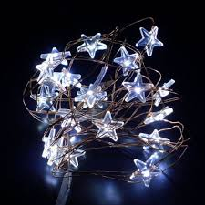 battery operated star lights white mini star 2m 20 led fairy lights battery operated copper wire