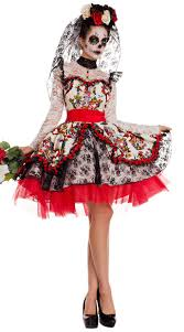 day of the dead costumes novia costume day of the dead costume yandy