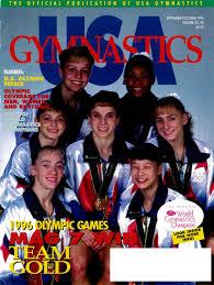 usa gymnastics september october 1996 by usa gymnastics issuu