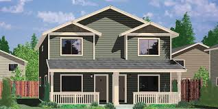 two story house plans with front porch duplex house plan two story duplex house plan affordable d 549