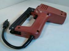 Electric Staple Gun For Upholstery Heavy Duty Staple Gun Ebay