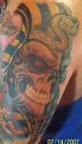 tut skull tattoo