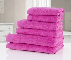Fuschia Bedding Fuschia Pink Turkish 600gsm Extra Length Towels Exclusive Own