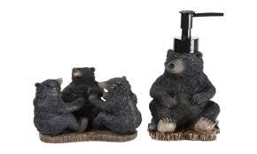 Bear Bathroom Accessories by Country Bear Bathroom Decor Bathroom Design