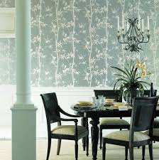 Wallpaper Designs For Dining Room Bamboo Wallpaper Design For Dining Room Quecasita