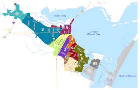 map of corpus christi corpus christi zip code map zip code map