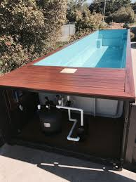 see shipping container swimming pools for sale and price