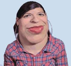Ugly Smile Meme - ugly cow gif anita sarkeesian know your meme