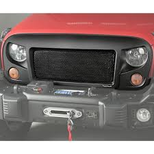 Rugged Ridge Billet Grille Inserts In Black Grilles U0026 Parts Body U0026 Frame Replacement Parts