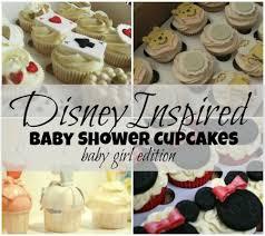 disney inspired baby shower cupcakes for girls disney baby