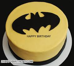 Batman Birthday Meme - write name on batman themed birthday cake 2happybirthday