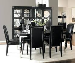 black dining table chairs black dining room chairs intended for wood set photo of fine prepare