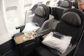 American Airlines Flight Entertainment by American Airlines 757 New Business Class Seat Travelupdate