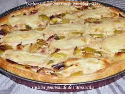 3 cuisine gourmande tarte aux poireaux et au maroilles cuisine gourmande de carmencita