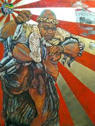 Image Gallery Controversial Paintings - the new painting of jacob zuma by ayanda mabulu www inside