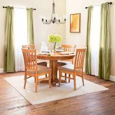 solid wood pedestal kitchen table shaker round single pedestal dining table solid wood usa made