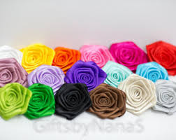 satin roses satin roses bouquet etsy