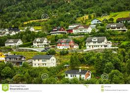 country houses in norway stock photography image 30104632