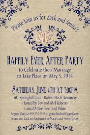 elopement invitations post wedding reception invitation zoolook me
