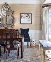 Eclectic Dining Room Chairs Best 25 Grasscloth Dining Room Ideas On Pinterest Dining Room