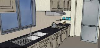Home Design Using Google Sketchup by Kitchen Using Google Sketchup Pro Design By Morgan Lund Ml Designs
