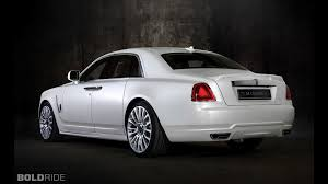rolls royce white mansory rolls royce white ghost limited motor1 com photos