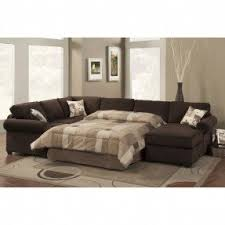 Sleeper Sectional With Chaise Sofa Impressive 3 Piece Sofa Bed Sectional Sofas With Recliners