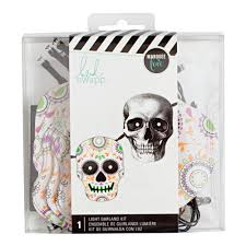 marquee love light garland kit skull u2013 heidi swapp