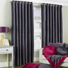 Plum Faux Silk Curtains Plum Eyelet Curtains Www Redglobalmx Org