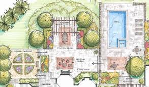 residential landscape architecture plan interior design