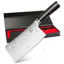 couperet de cuisine imarku feuille de boucher en acier inoxydable couperet de cuisine