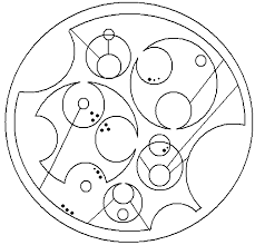 circular gallifreyan time turners of the t a r d i s