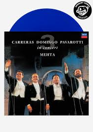 the three tenors in concert 25th anniversary edition lp