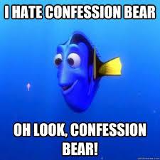 Confession Bear Meme - scumbag redditors about confession bear meme guy