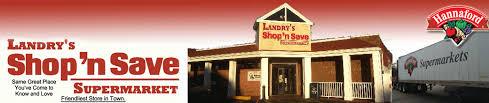 hours landrys shop n save