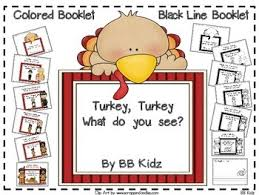turkey what do you see booklet on thanksgiving indians pilgrims