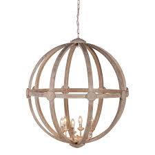 Orb Ceiling Light Alluring Orb Ceiling Light Large Washed Wood Orb Ceiling Light