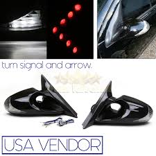 lexus is300 jdm for 00 05 lexus is300 jdm side euro power mirrors white led signal
