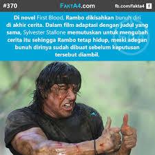 film rambo adalah fakta4 on twitter first blood adalah film pertama rambo dirilis