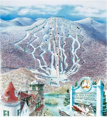 Utah Ski Resort Map by Balsams Wilderness Trail Map Liftopia